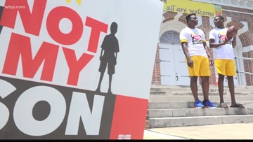 'Not My Son' summer campaign kicks off in St. Pete