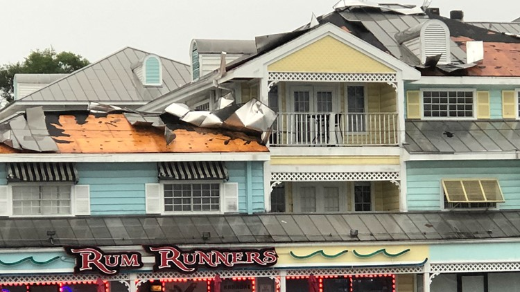 Stormy weekend in Tampa Bay brought damage and heartbreak