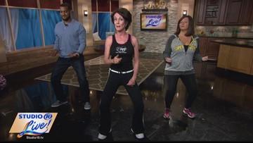 T-Tapp Tuesday -- No-jump jumping jacks