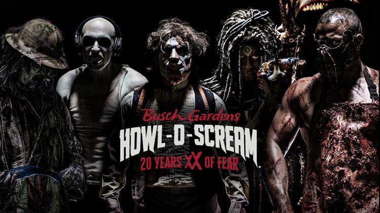 Busch Gardens Howl-O-Scream celebrates 20 years with ticket deal