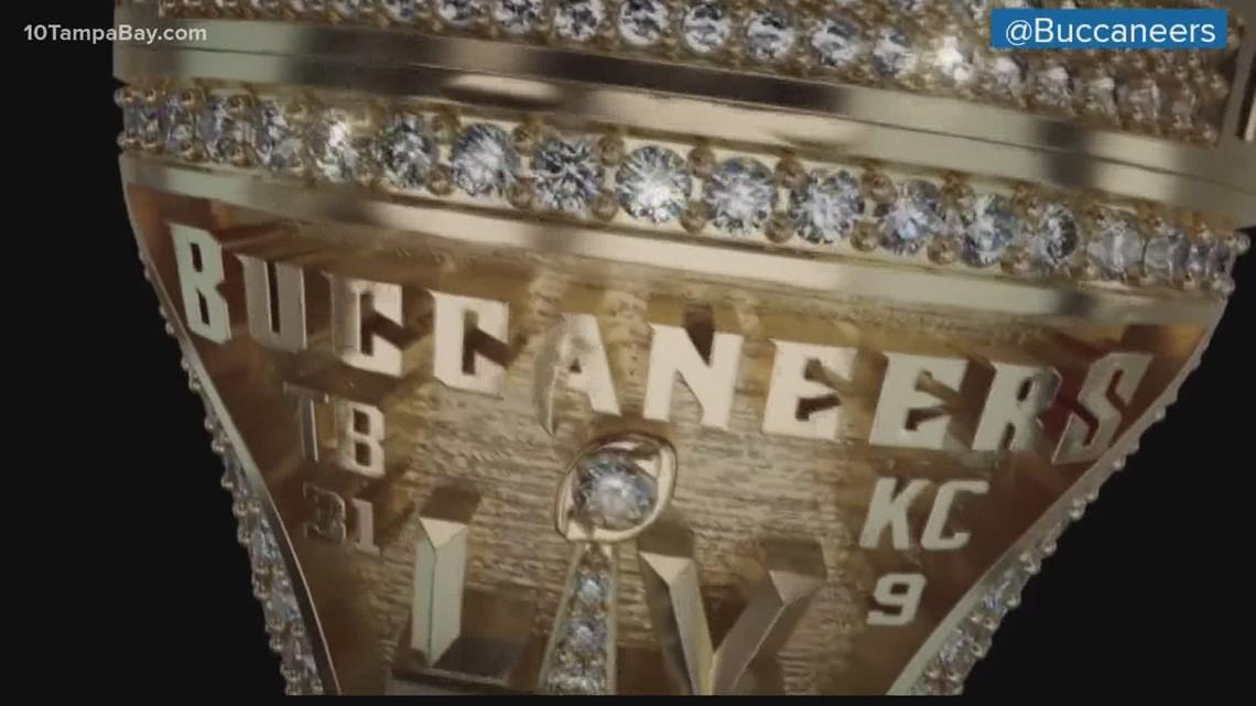A look at Tampa Bay Bucs Super Bowl Ring