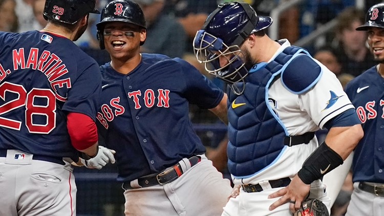 ALDS Game 2: Rays unable to contain Red Sox offense, lose 14-6