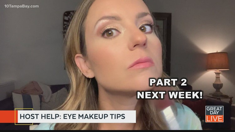 Host Help: Makeup tips to help your eyes pop