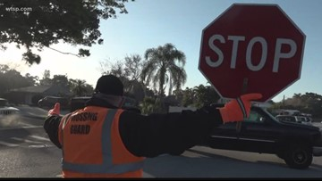 'I like him a lot': Tampa Bay crossing guard named one of the best in Florida