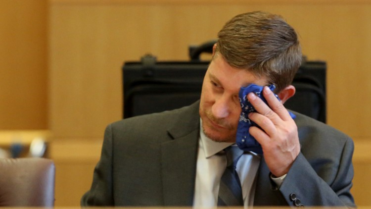 Jury seated in Michael Drejka trial