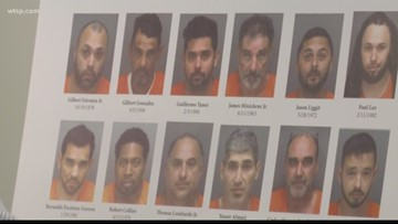 More than 150 people arrested in unlicensed contractor sting