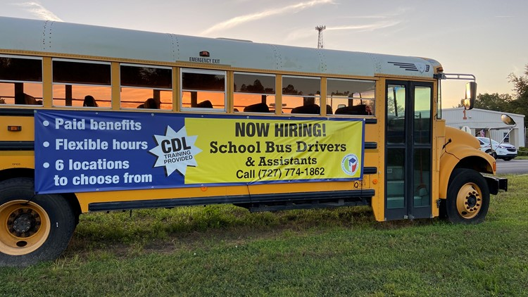 Pasco County Schools looks for solutions to bus driver shortage