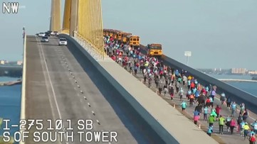 Man who suffered medical emergency during Skyway 10K dies