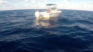 Coast Guard intercepts boat carrying migrants off Miami