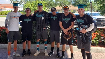 Florida high school seniors miss graduation for state championship baseball game