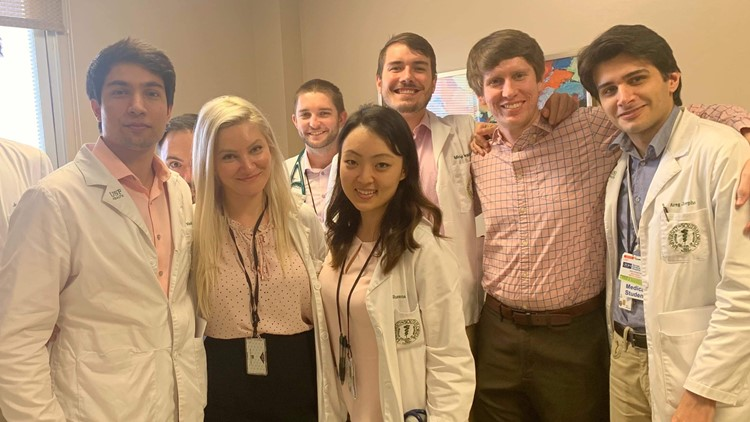 USF Medical Students stepping up in the fight against COVID-19