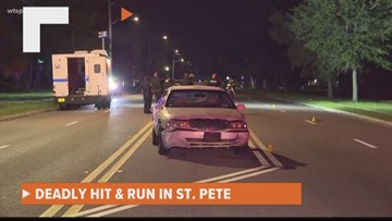Woman killed in deadly St. Petersburg hit-and-run crash