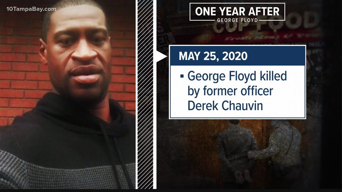 Today marks 1 year since George Floyd's murder: Here's what has changed