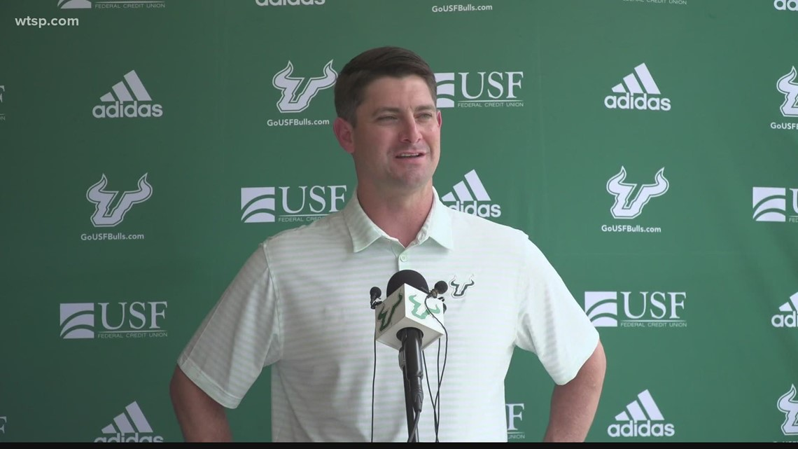 USF football hosts first workout since COVID-19 shutdown