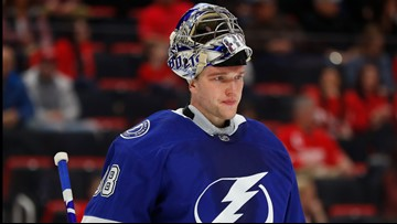 Lightning sign goalie Andrei Vasilevskiy to an 8-year extension
