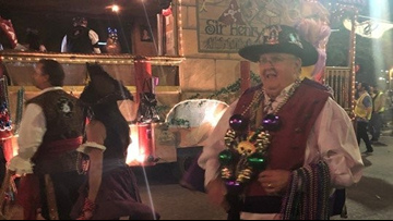 Pirates filled the streets of Ybor for the Gasparilla Knight Parade