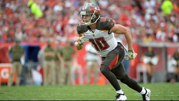 Popular Bucs wide receiver Adam Humphries is leaving for the Titans