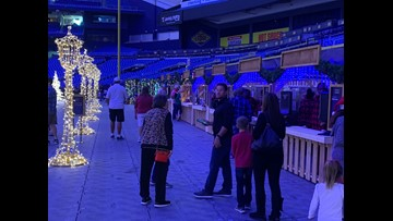 Tropicana Field to light up with 'world