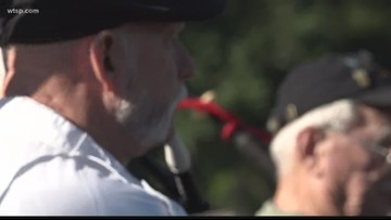 Local bagpipers celebrate 50 years of music