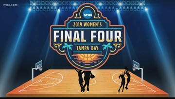 Women's Final Four tips off at Amalie Arena in Tampa