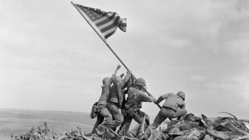 The battle of Iwo Jima began 75 years ago today