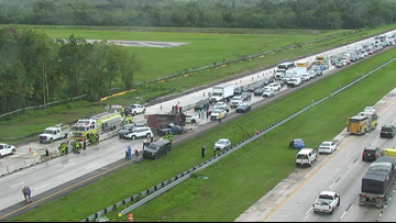 One person dead, infant in critical condition after I-75 crash involving dump truck