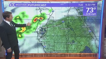 Warm weather again Tuesday ahead of some big changes