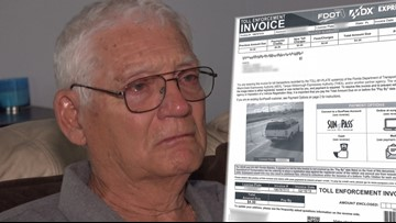 Man says SunPass 'harassed' him with bogus bills while he cared for his dying wife