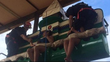 2 women rescued from Legoland ride