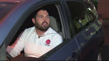A 'taco saved my life': Driver dodges bullet during shooting