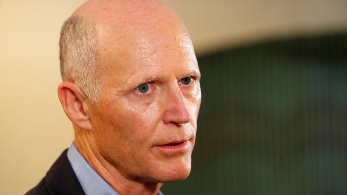 Florida Sen. Rick Scott says nobody told him about Russian hacking when he was governor