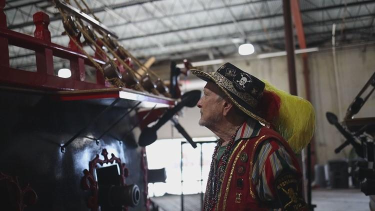 Gasparilla pirate celebrates 50 years in krewe