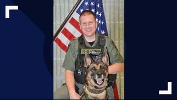 Hernando County Sheriff's Office says goodbye to beloved K-9