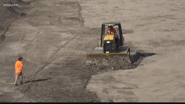 Raymond James Stadium turns into Supercross track