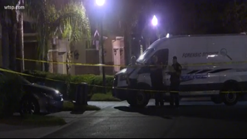 Man dies after being found on fire outside home in Tarpon Springs