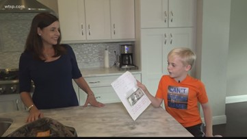 Tampa 3rd grader gives teacher his birthday money because he doesn't think she's paid enough