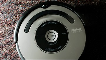 Police respond to burglary call. It was a Roomba trapped in a bathroom