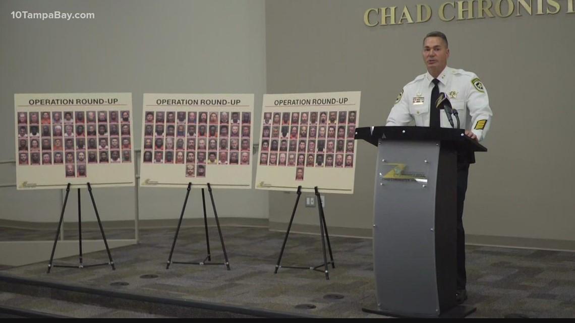 Sheriff: Hillsborough County teacher among 125 men arrested during anti-human trafficking operation