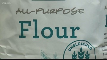 Stores pulling some types of Pillsbury flour due to possible salmonella contamination
