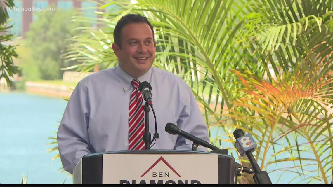 State Rep. Ben Diamond announces bid for Florida's 13th Congressional District