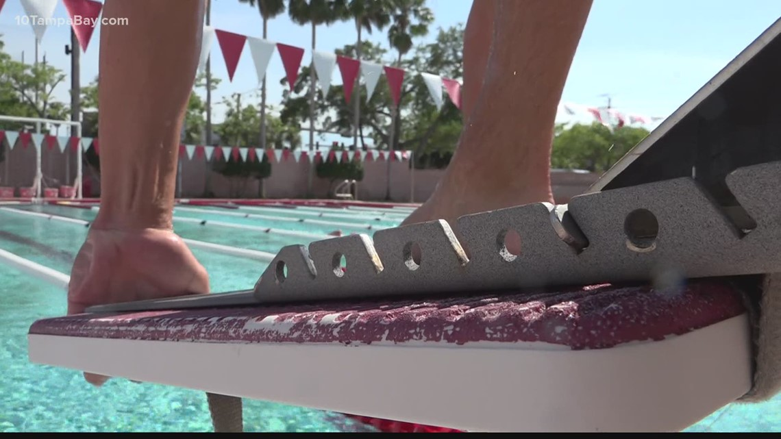 Tampa prep swimmer ready for Swim Across America to honor his mom