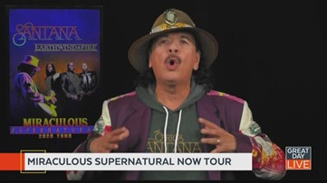 GDL talks with Santana and Earth, Wind and Fire