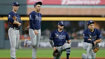 Astros end Rays season, defeating Tampa Bay 6-1 in Houston