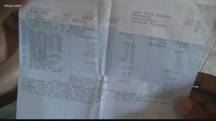 Turn to 10: St. Petersburg veteran gets a $2,700 water bill. In shock, he called us