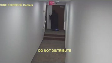 Judge grabs employee by the neck