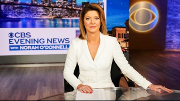 Norah O'Donnell debuts as 'CBS Evening News' anchor Monday on 10News WTSP