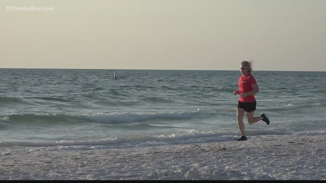 Five years removed from cancer, survivor set to run a mile for 700th consecutive day