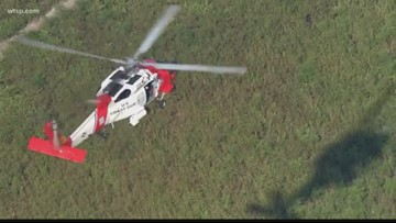 Sheriff's office helicopter goes down while responding to gyrocopter crash
