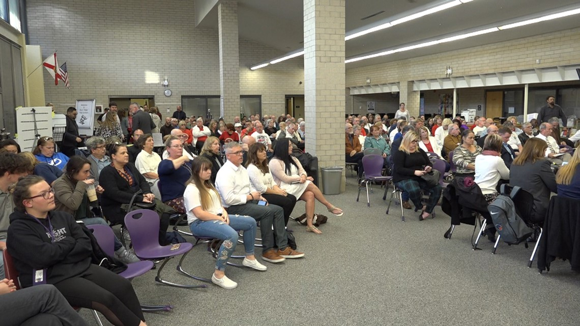 Parents push Pasco County school board to change transgender student policy