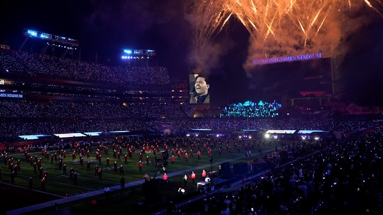New documentary goes behind the scenes of the Super Bowl LV halftime show